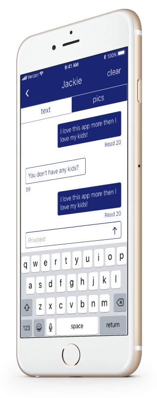 Privatext – The only safe way to text